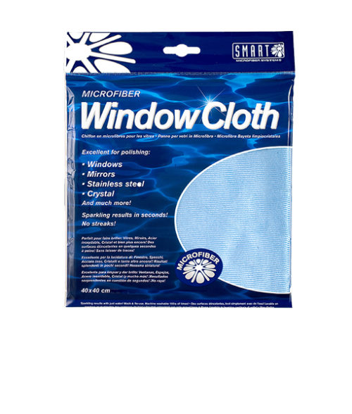 Image Window Cloth - Microfibre Blue - Pack of 10