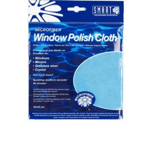 Image Window Polishing Cloth - Microfibre Blue - Pack of 10