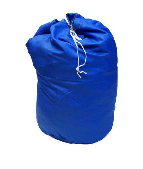 Image Laundry Bag with Drawstring - White