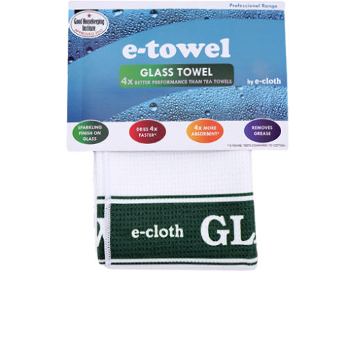 Image Tea Towel Glass Green