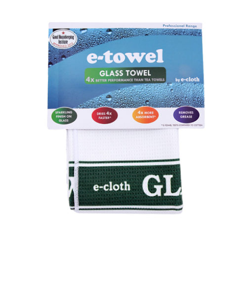Image Tea Towel Glass Green