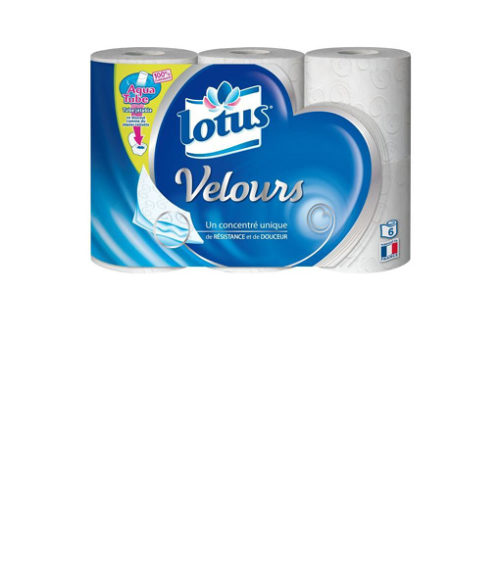 Image Ph Velours Toilet Paper - Pack of 6