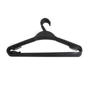 Image Black Plastic Hangers