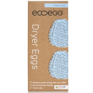 EcoEgg Dryer Egg – Fresh Linen – Pack of 2