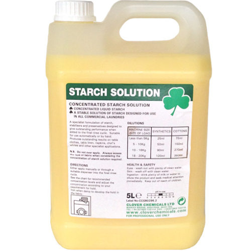 Clover - Liquid Starch - 5L