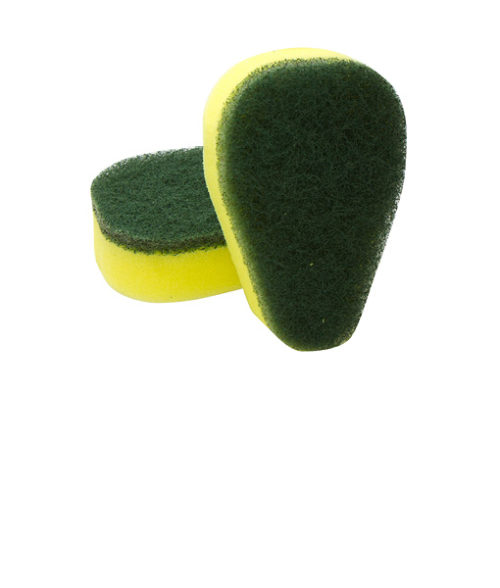 Image Replacement Sponges for Scotch Brite Brush - Pack of 2