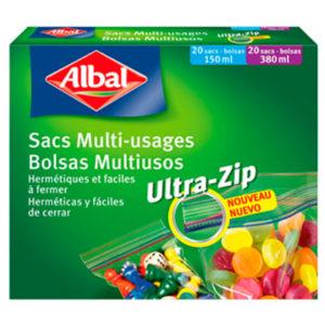 Image Micro Ziploc Bags 20X 150ml and 20X 380ml