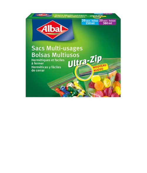 Image Micro Ziploc Bags 20X 150ml and 20X 380ml