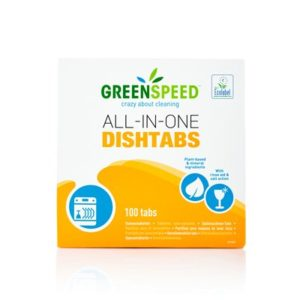 Image Greenspeed All-in-one Dishtabs Box of 100